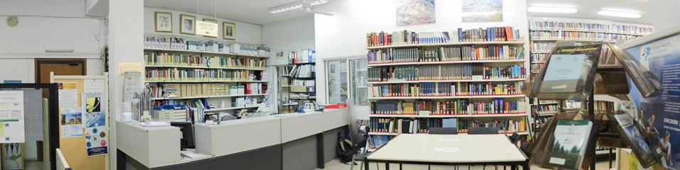 Φωτογραφία Βιβλιοθήκης Τμημάτων Φυσικής & Πληροφορικής. © Βιβλιοθήκη ΑΠΘ.