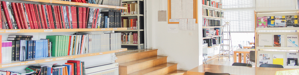 Library of Architecture Photo. © AUTh Library.
