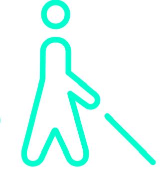 Λογότυπο ατόμου με αναπηρία