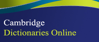 Λογότυπο Cambridge Dictionaries Online