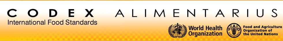 Λογότυπο FAO - Codex Alimentarius