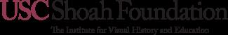Λογότυπο USC Shoah Foundation