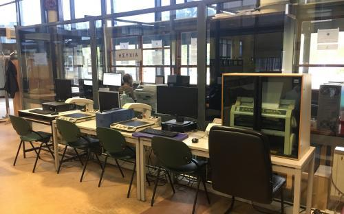 Workplace and equipment for people with disabilities
