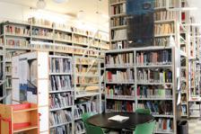 Φωτογραφία Βιβλιοθήκης Τμήματος Αρχιτεκτόνων Μηχανικών. © Βιβλιοθήκη ΑΠΘ.